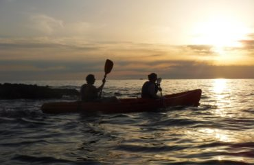 Sunset seakayking Porec (2)