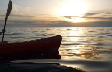 Sunset seakayking Porec (4)
