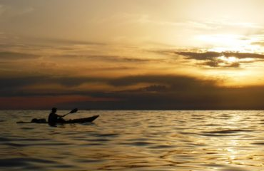 Sunset seakayking Porec (5)