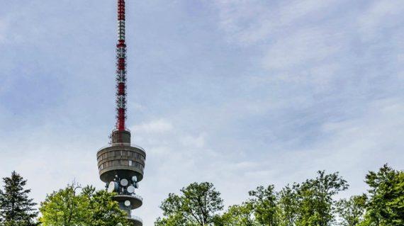 Sljeme TV tower
